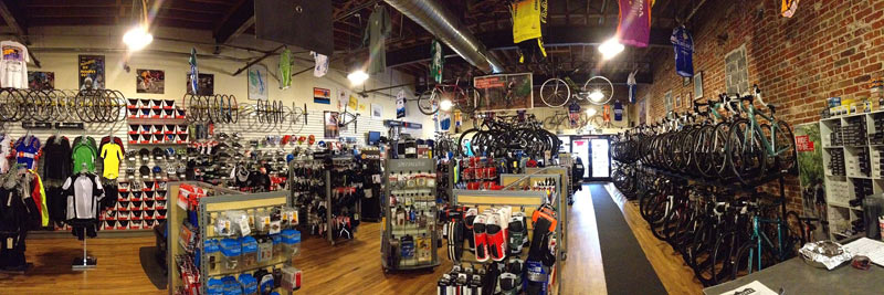 Peak Cycles Bike Shop Panoramic | Golden, Colorado