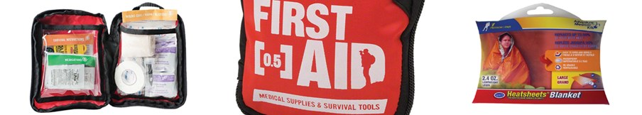 First Aid & Survival Kits