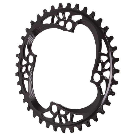 Absolute Black 104 Chainring, 104BCD 38T - Black