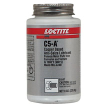 Loctite C5-A Anti-Seize compound, 8oz brush can: Loctite