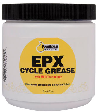 Pro Gold Products ProGold EPX cycle grease, 16oz tub