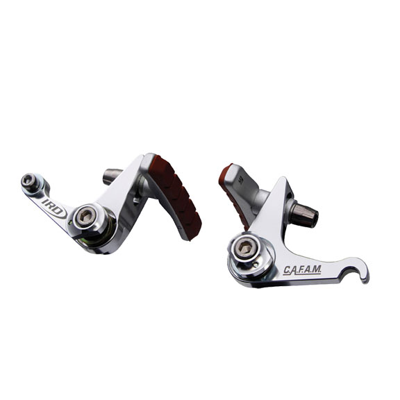 Interloc Racing Design Cafam cantilever brake, silver  each: Interloc Racing Design