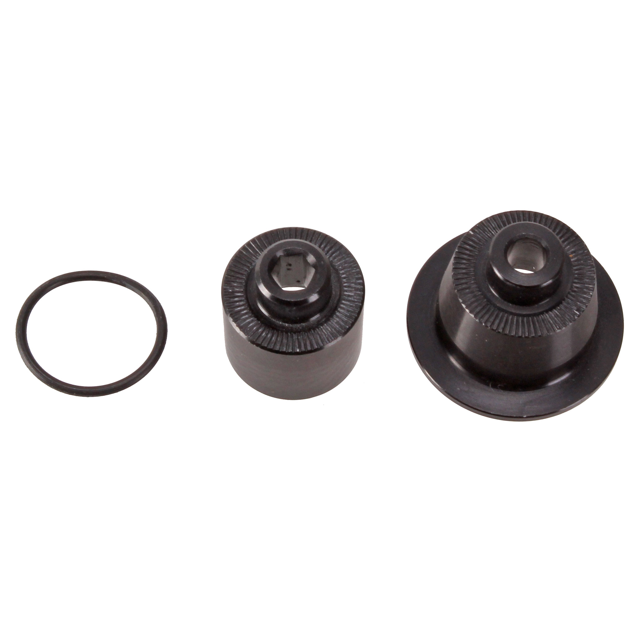 Bicycle Hub Caps : Sunringle src srx rear hub mm qr end cap kit black