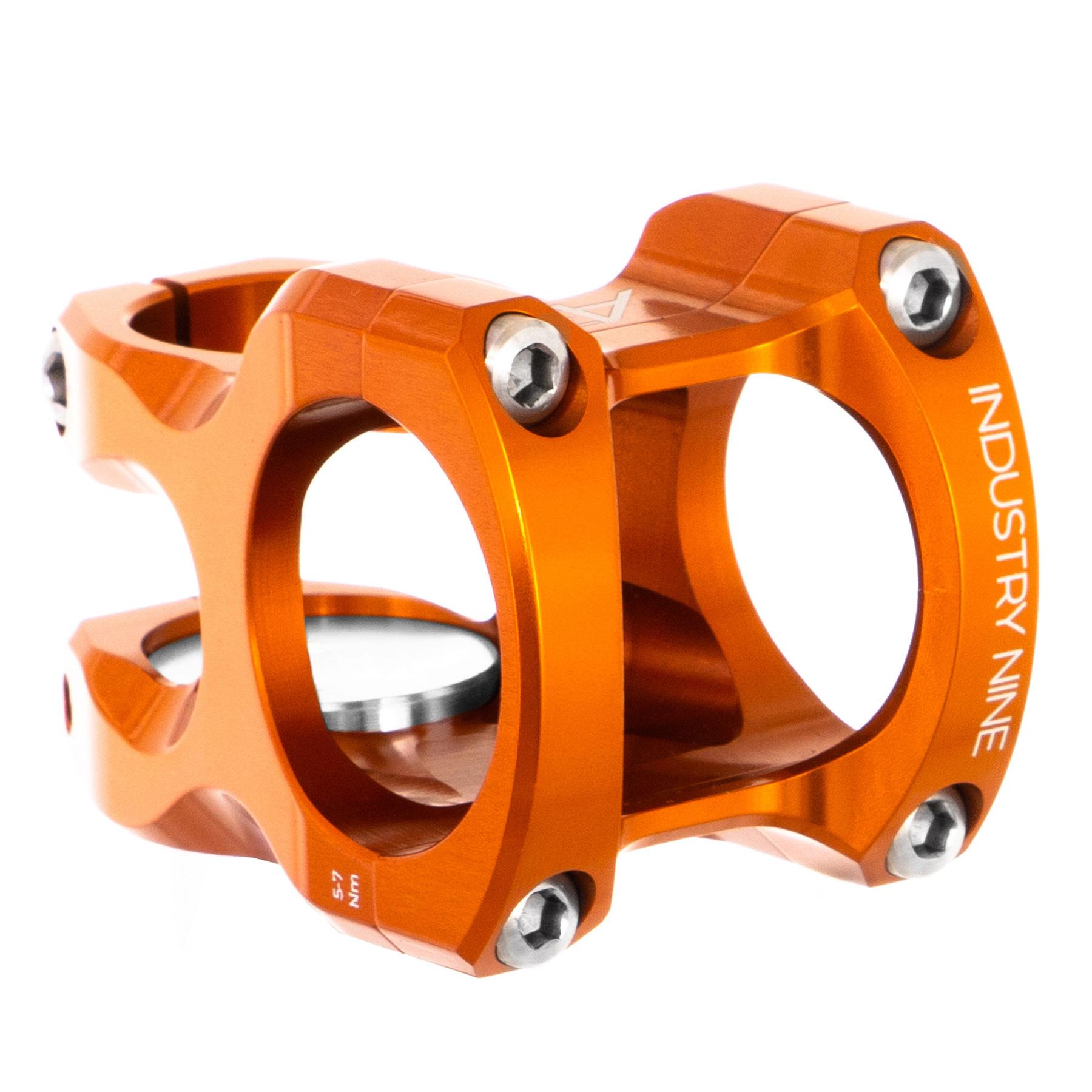 Industry Nine A35 Stem, 50mm Orange 35.0