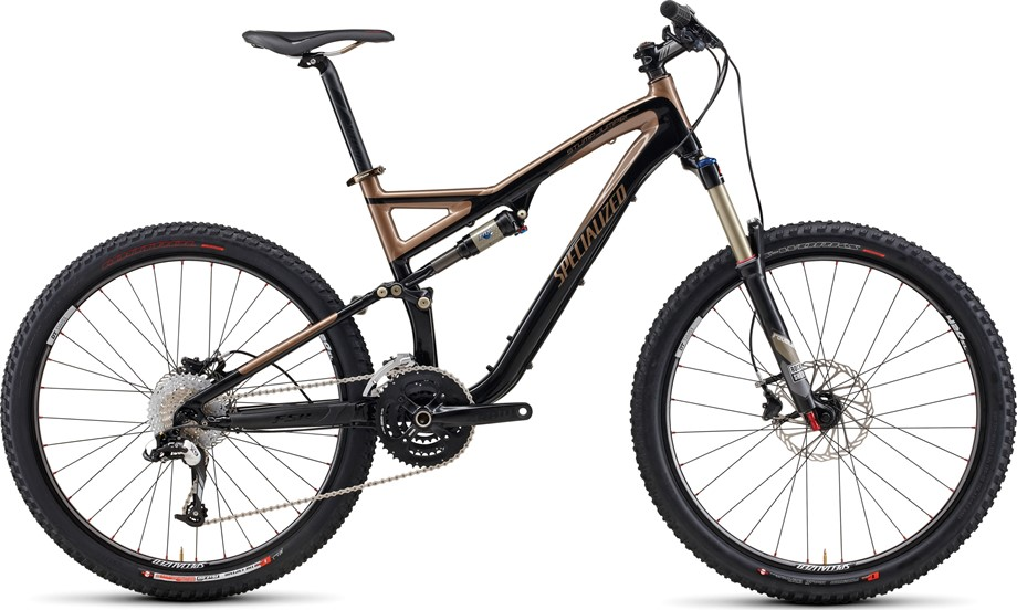 2011 Specialized Stumpjumper FSR Comp Black/Brown XL