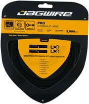 Jagwire HyFlow Disc Hose, Black, 3000mm, Requires Jagwire HyFlow Quick-Fit Kit: Jagwire