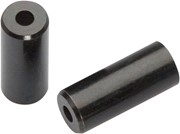 Jagwire 4mm Open Brass End Cap, Black, Bottle of 50: Jagwire