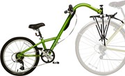 Burley Piccolo 7-Speed Trailercycle: Green: BURLEY