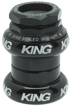 Chris King cartridge 1 in. threaded headset, Black: Chris King
