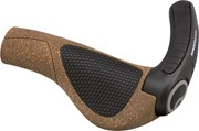 Ergon GP3-L Large Bio-Cork Grips Cork/Black: Ergon