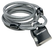 Kryptonite Flex Cable 6 foot x 8mm w/key padlock: Kryptonite