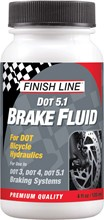 Finish Line DOT 5.1 Brake Fluid: 4oz: Finish Line