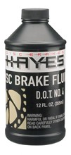 Hayes DOT 4 Brake Fluid, 12 oz.: Hayes Brake