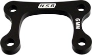 North Shore Billet Direct Mount Stem Stack Spacer 6mm Black: NORTH SHORE BILLET