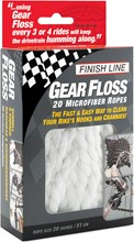 Finish Line Gear Floss Microfiber Cleaning Rope: Finish Line