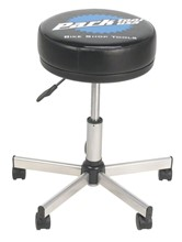 Park STL-2 Rolling Shop Stool; adjust from 17-1/2 to 22-1/2-inches: Park Tool