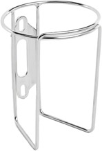 Velo Orange Retro Water Bottle Cage without Tab: Polish Stainless: VELO ORANGE