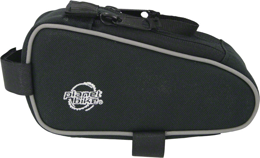 Planet Bike Snack Sack Top Tube Bag: Black
