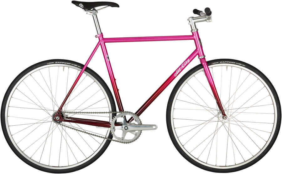 All-City Big Block Bike - 700c, Steel, Pink Fade, 52cm