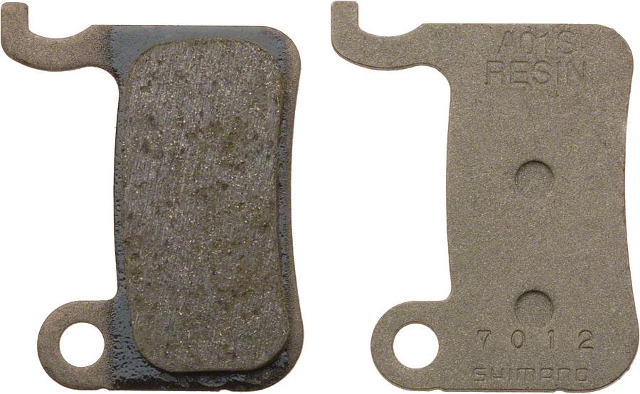 XTR SLX Disc Brake pads with spring XT Steel BR-M665, resin pad A01-S
