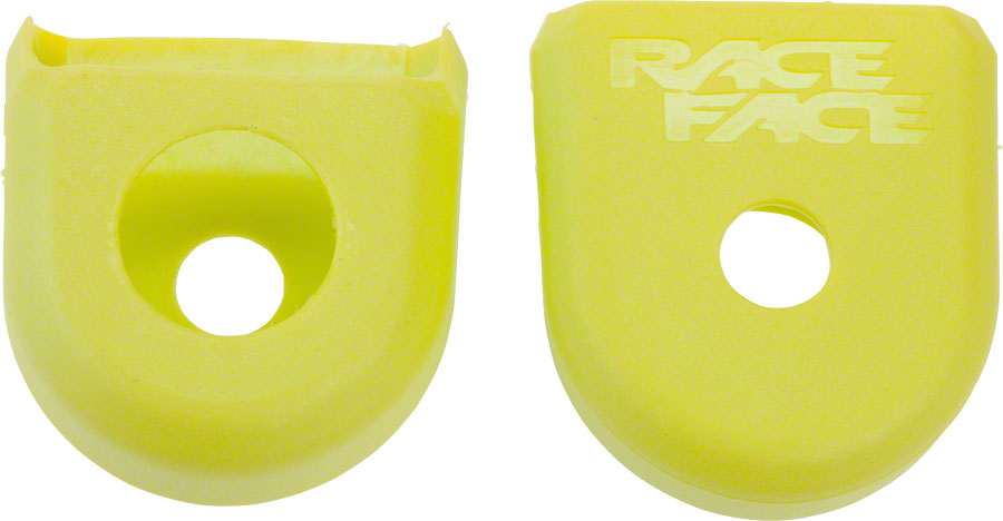 For Carbon Cranks 2-Pack Yellow RaceFace Crank Boots