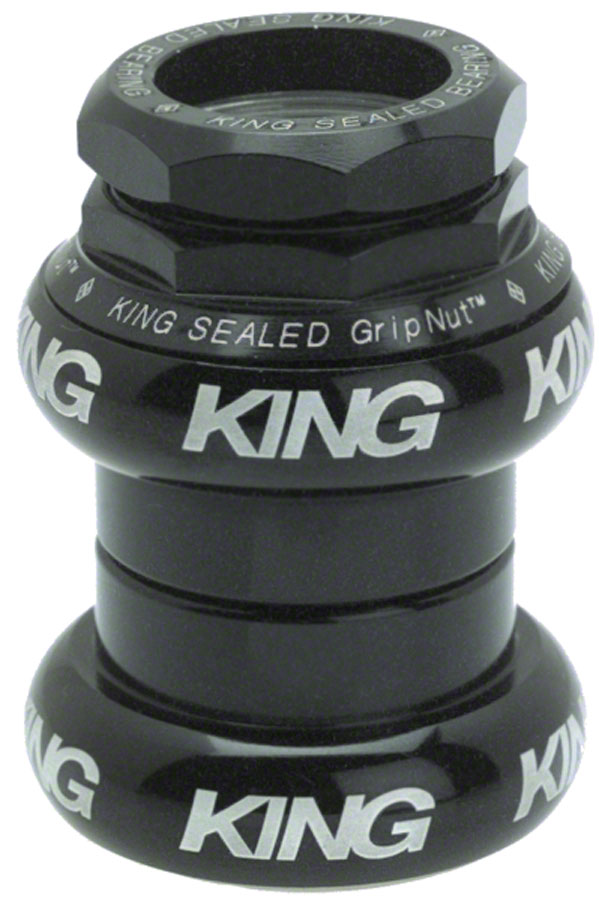 Chris King cartridge 1 in. threaded headset, Black