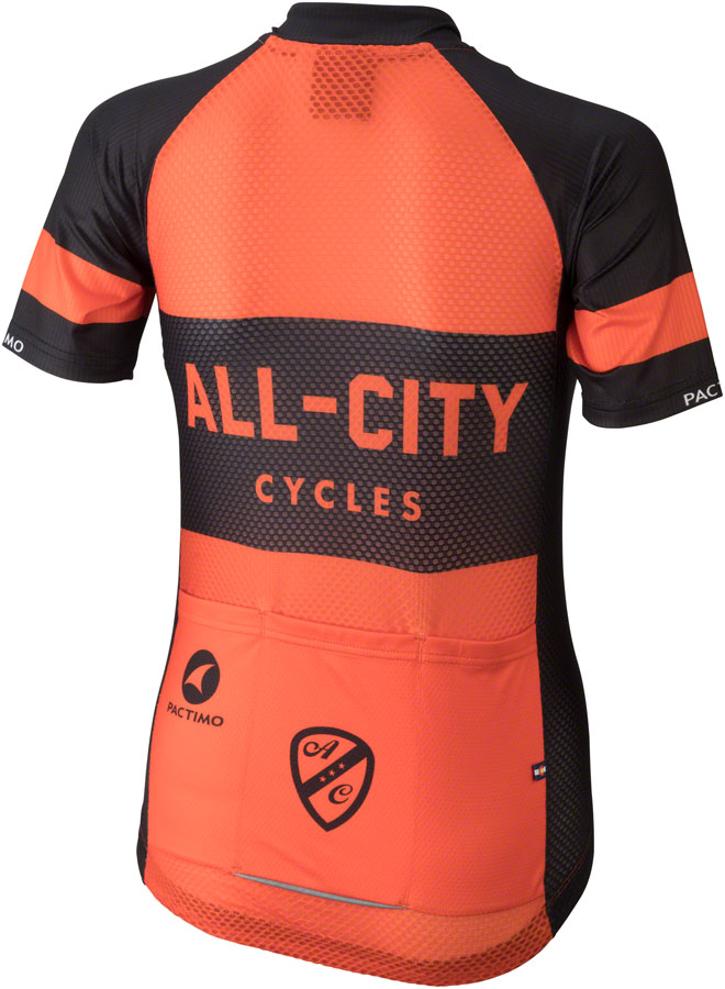 All-City Classic Jersey - Orange, Short Sleeve, Women's, Large
