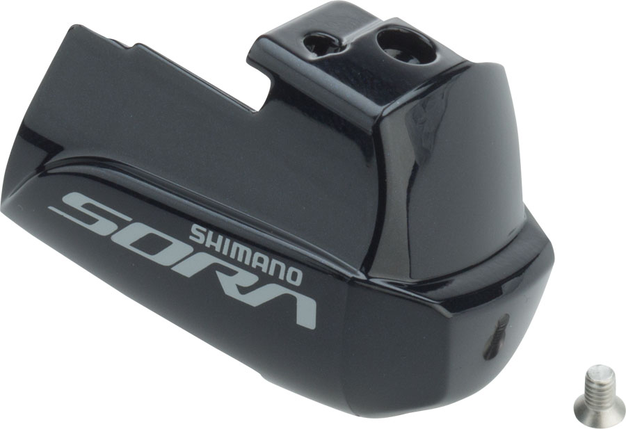 SHIMANO SORA R3000 RIGHT  STI LEVER NAME PLATE AND FIXING SCREW SHIFTER PART