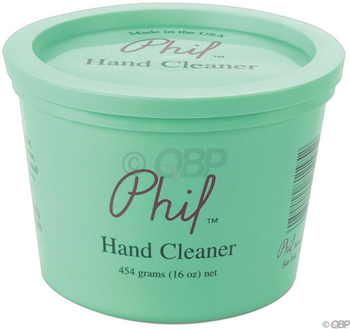 Phil Wood hand cleaner, 16oz tub with lid, ea