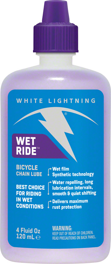 White Lightning Wet Ride 8oz Bottle