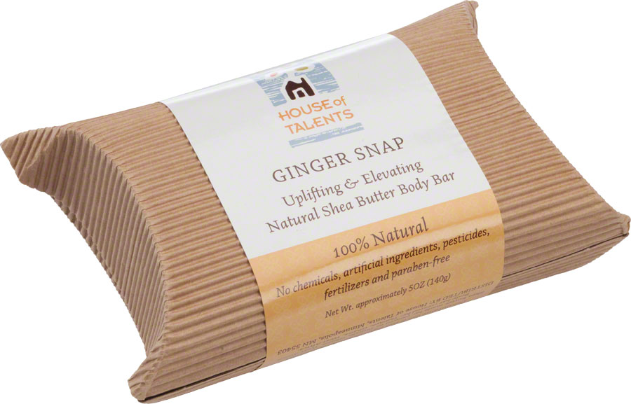 House of Talents Ginger Snap Soap: 5oz Bar | Bikeparts.Com