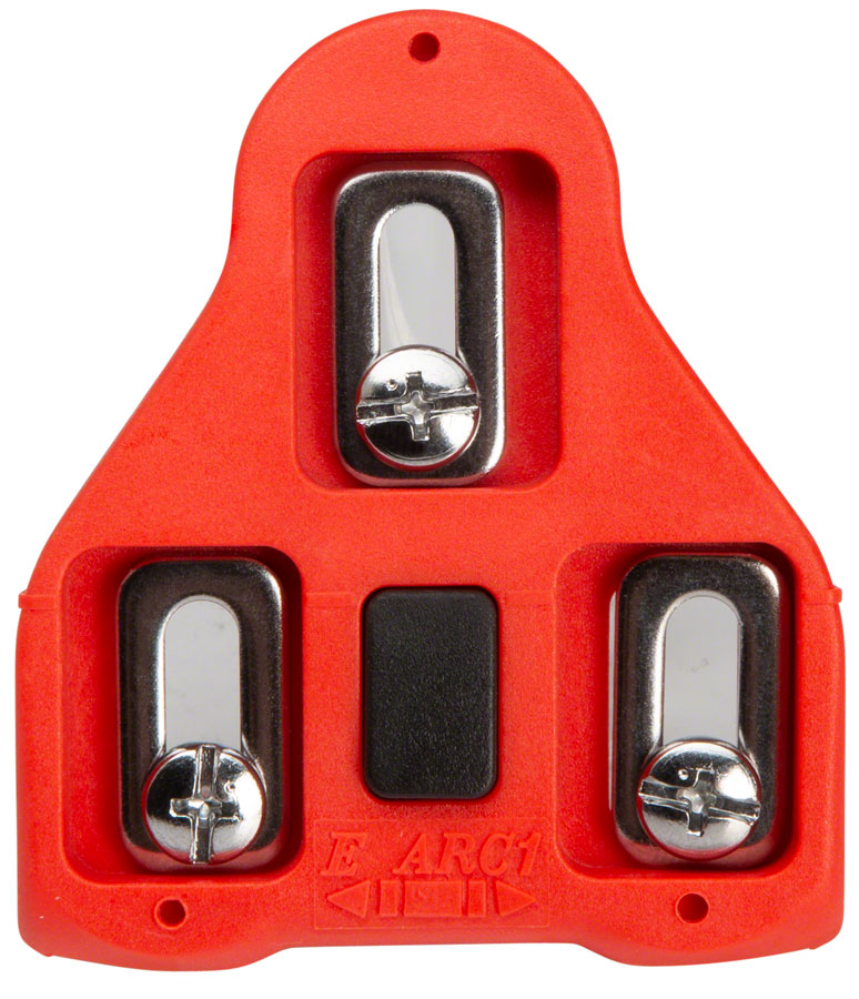 VP Components Red Arc Floating Cleats for Look, 