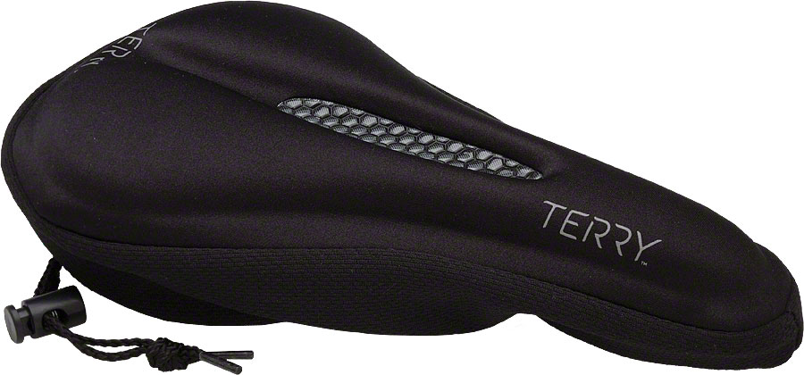 Terry Gel Saddle Cover Black