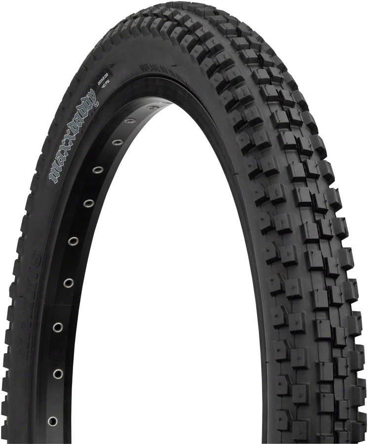 Maxxis MaxxDaddy BMX Tire 20x2.0 in. Black Steel