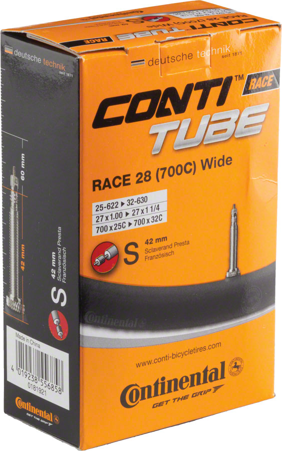 Continental 700 x 25-32mm 42mm Presta Valve Tube