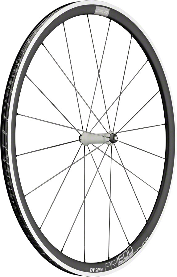 DT Swiss PR1600 32 Spline 700c Front Wheel